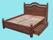 Кровать деревянная Грация