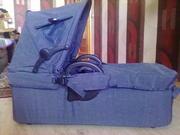 люлька от коляски Geoby Joss синего цвета