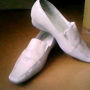 Туфли для девочки,  светлые