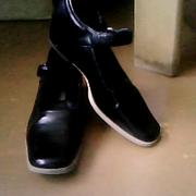Туфли для девочки,  кожаные