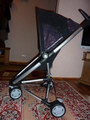 Коляска Quinny Zapp (Голландия) со сдвоенным поворотным передним колес