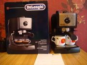 Кофеварка новая эспрессо DeLonghi EC 155