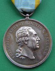 Саксонская медаль ордена св. Генриха ІІ степени