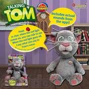 Говорящий кот Том Talking Tom - мягкая игрушка - отличный подарок ребёнку к    Новогодним праздникам !