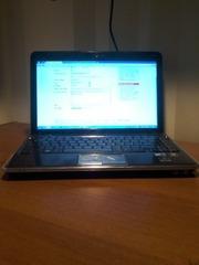 Продам ноутбук с сенсорным екраном,  HP pavilion dv 3. БУ.