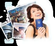 Шенгенские,  рабочие и  бизнес визы в Европу