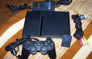 Продам приставку Sony Playstation 2 б/у отличное состояние