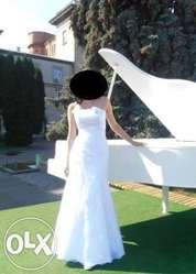 Продам свад.  платье