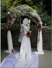 Продам свадебное платье сошлейфом