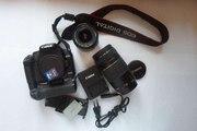Срочно продаю зеркальный фотоаппарат Canon EOS 500D(комплект)