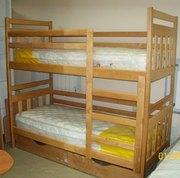 Детская двухъярусная кровать Чебурашка