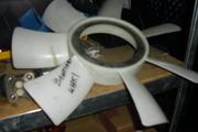 Вентилятор радиатора на Богдан, ТАТА, ISUZU, Эталон.