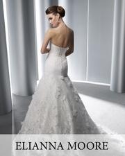 Продам шикарное свадебное платье Elianna Moore