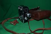 Кинокамера Экран Пленка 8 мм. В отличном состоянии. Произведено в СССР