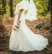 Продам свадебное платье б/в хорошем состоянии
