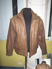 Мужская оригинальная кожаная куртка-трансформер Henry Morell. Лот 45