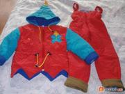 Продается зимний костюмчик на девочку